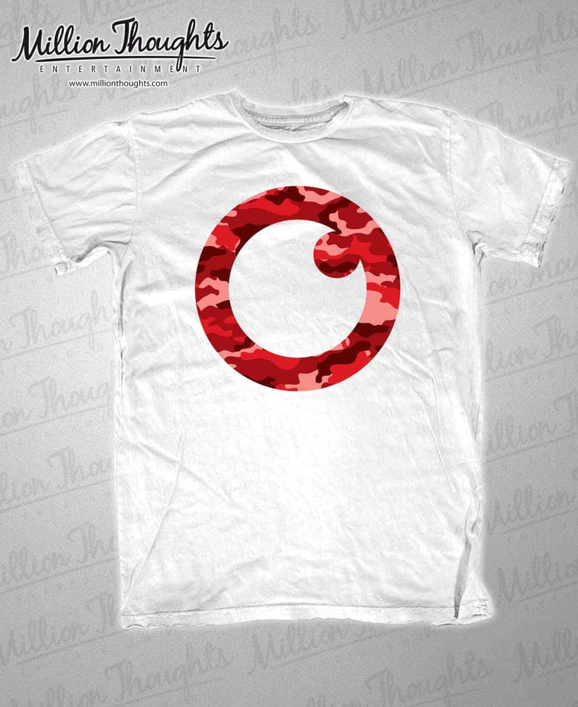 White Tee_Red Logo