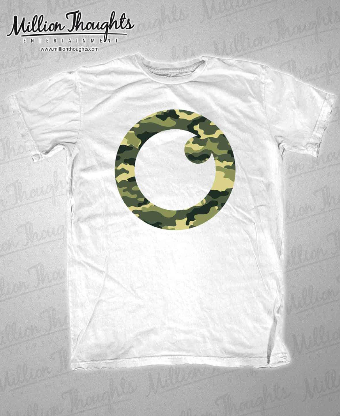White Tee_Green Logo
